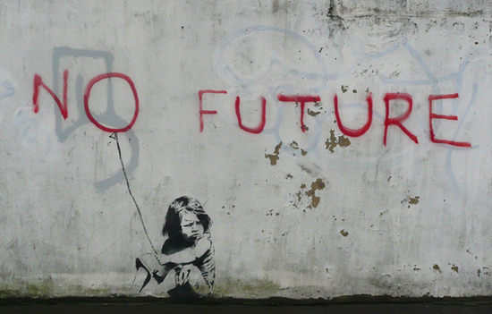 no future. Banksy
