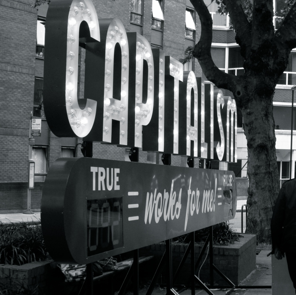 Capitalism works for me. TRUE/ FALSE. (1/6)